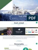 Dodi Juliadi - Profile 070316
