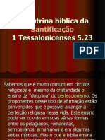 A Doutrina Bíblica Da Santificação