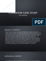 Formation Case Study