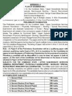 UPPSC Syllabus Exam Pattern