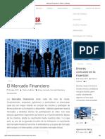 Mercado Financiero _ Todos a La Bolsa
