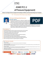 PetroSync - ASME PCC 2 - Pressure of Equipment 2018