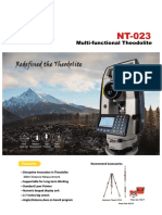 Teodolito Con Distanciometro South NT-023