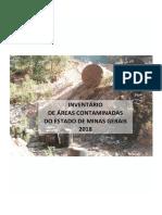 INVENTÁRIO ÁREAS CONTAMINADAS - 2018
