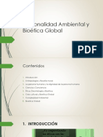 Racionalidad Ambiental y Bioetica Global