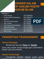 Transgender Dalam Hukum Islam