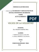 Vicios de La Voluntad Jordan Pablo Mendoza Salas