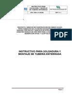 Instructivo Para Soldadura de Tuberia