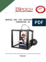 Manual Impresora 3d