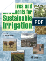 Incentives and Instruments for Sustainable Irrigation