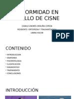 DEFORMIDAD EN CUELLO DE CISNE
