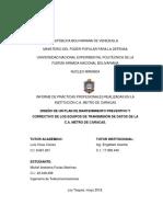 Informe de Pasantías Michel Farías