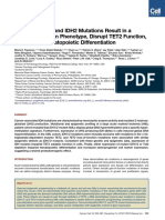Leukemic IDH1 and IDH2 Mutations Result in a Hypermethylation Phenotype, Disrupt TET2 Function, and Impair Hematopoietic Differentiation