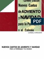 Nuevos Cantos de Adviento y Navidad, Carmelo Erdozain