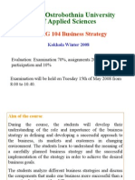 BKMG104 Business Strategy 2008