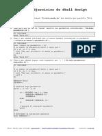 Ejercicios Shell Script Solucion