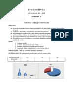 Ev. Finala Gr. Mica 2017-2018 -Rapoarte Evaluari