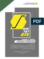 Bank Soal Sipil Semester 5 ( Anstruk Beton PGJ Tektrans K3L )