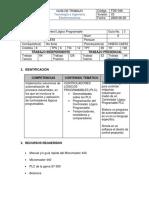 GUÍA de LABORATORIO - Control de Velocidad de Un Motor Trifásico (Repaso PLC)
