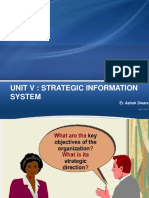 UNIT v Strategic Information System