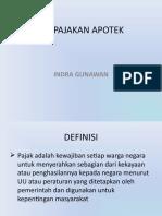 PERPAJAKAN APOTEK (FIX)-1.ppt