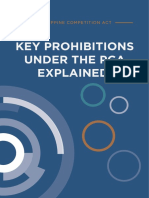 Key Prohibitions Under the PCA Explained Oed Final