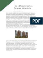 Patología de Edificaciones Tipo Túnel en Caracas