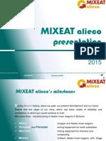 1 MIXEAT Alieco Presentation 2015 En