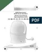 Podgrzewacz Pokarmu NUK Thermo Rapid 256 237 Instrukcja