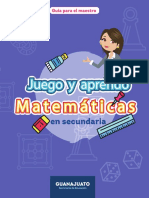 Juego y Aprendo Matematicas de Secundaria