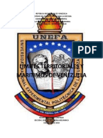 Limites Territoriales y Maritimos de Venezuela