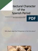 Introduction Spanish Era