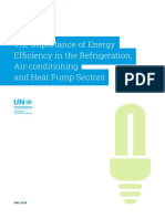 Briefingnote a Importance of Energy Efficiency in the Refrigeration Air Conditioning and Heat Pump Sectors