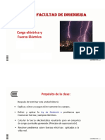 Fuerza y Campo Electrico