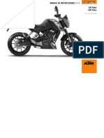 Manual de Usuario KTM Duke 200