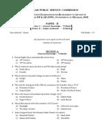 Assistant Grade Paper Ii250319020337