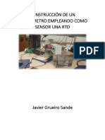Construcción de Un Termómetro Empleando Como Sensor Una Rtd