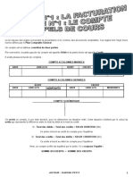 Dossier 1 Theme 1 Le Compte Cours