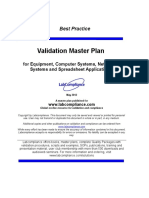 m 171 Validation Masterplan