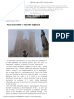PAROUSIA_ Paris Sera Brûlée Et Marseille Engloutie