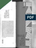 Kant Textos Seletos Bilingue