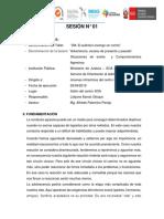 Informe Taller 1 Sesión 1