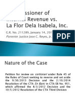 1. CIR vs. La Flor (1)