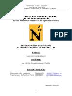 Informe de Salida a Ventanilla-Yacimiento de Minerales