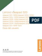 Manual Español Lenovo