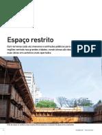 Espaço restrito - Revista