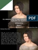 Mariana Flores Melo - El Origen de La Oktoberfest, Teresa Carlota de Sajonia 1792-1854, Parte I
