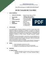 Informe de Taller