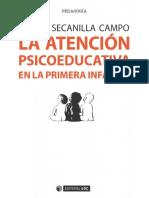 La Atención Psicoeducativa en La Primera Infancia. Evaluación de Centros, Servicios y Programas - Esther Secanilla Campo