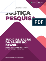 CNJ_Relatório_Judicialização Da Saúde No Brasil